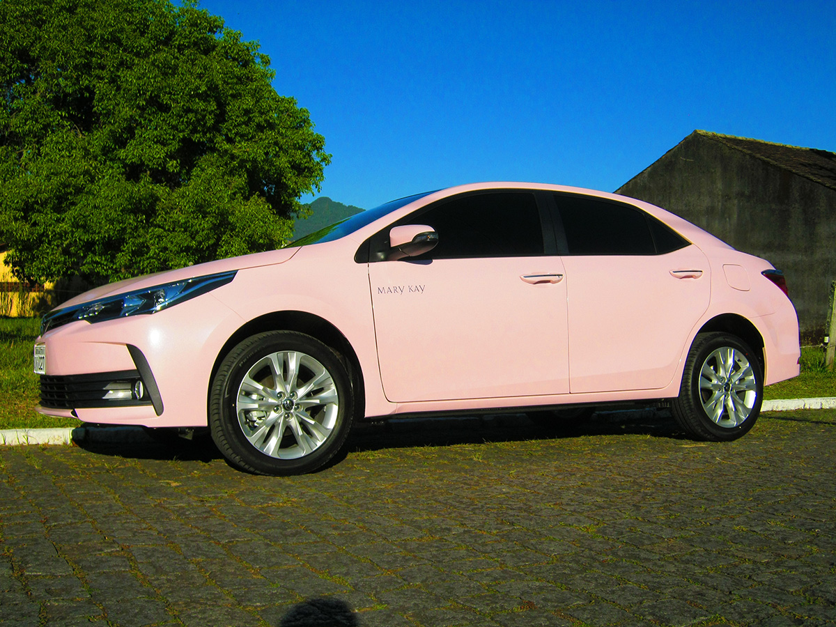 Envelopamento 100% Corolla Mary Kay